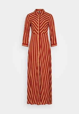 YASSAVANNA STRIPE LONG DRESS - Maxi dress - arabian spice