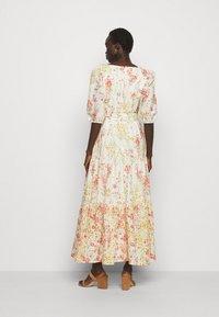 Lauren Ralph Lauren - VOILE DRESS - Day dress - col cream/coral - 2