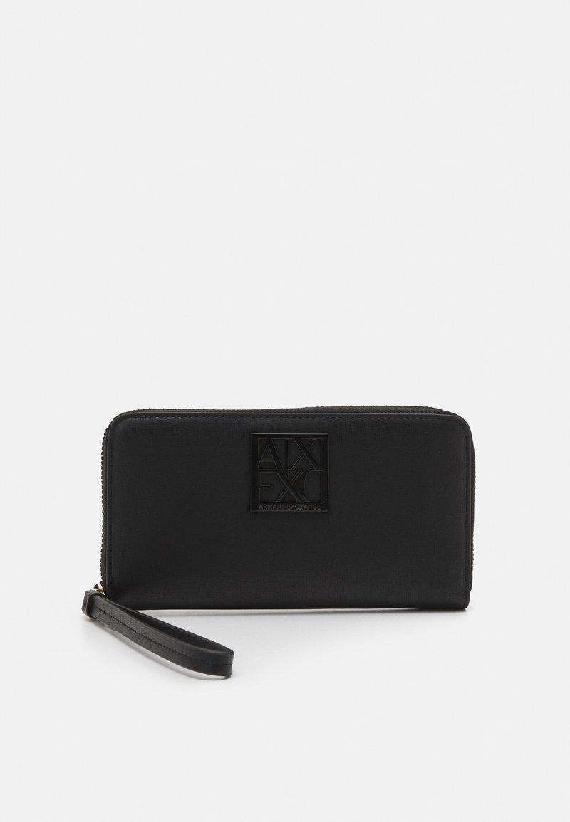 Armani Exchange - WALLET - Wallet - black