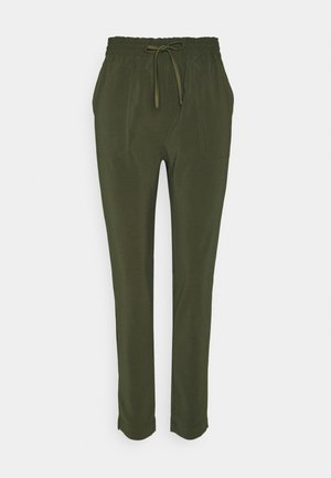 OBJARIA PANT - Trousers - forest night