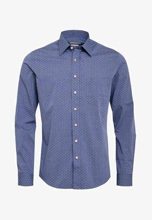 TONAL SLIM FIT - Shirt - blau