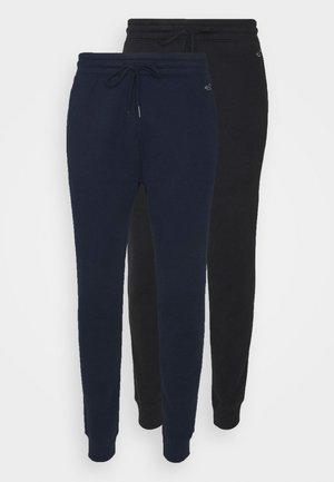 2 PACK - Teplákové kalhoty - navy/black