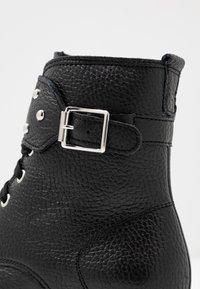 Richter - Cowboy/biker ankle boot - black - 2
