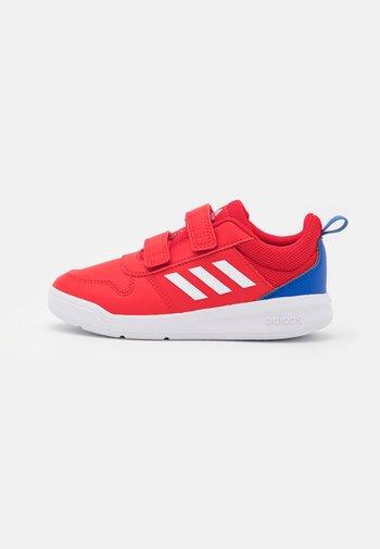 TENSAUR UNISEX - Sports shoes - scarlet/footwear white/team royal blue