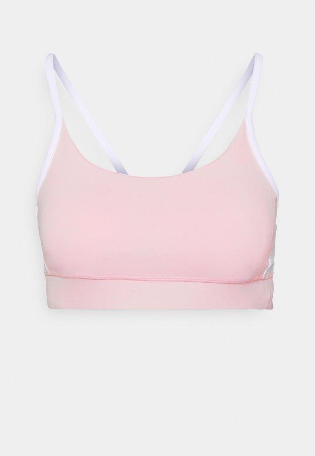 COLOUR BLOCK CROP - Sports bra - pink sherbet
