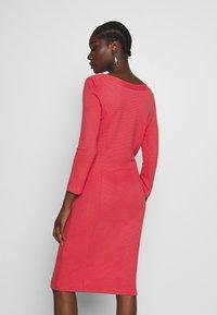 More & More - DRESS - Strikket kjole - soft raspberry - 2
