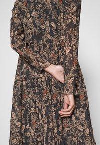 Lindex - DRESS KRINKLA - Maxi dress - offblack - 4