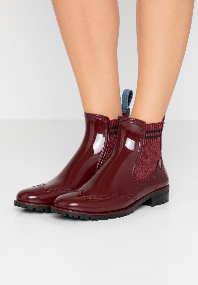 Stivali di gomma - bordeaux