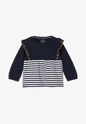 MET RUCHES - Long sleeved top - blue stripes