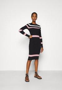 Anna Field Tall - Jumper dress - black - 1