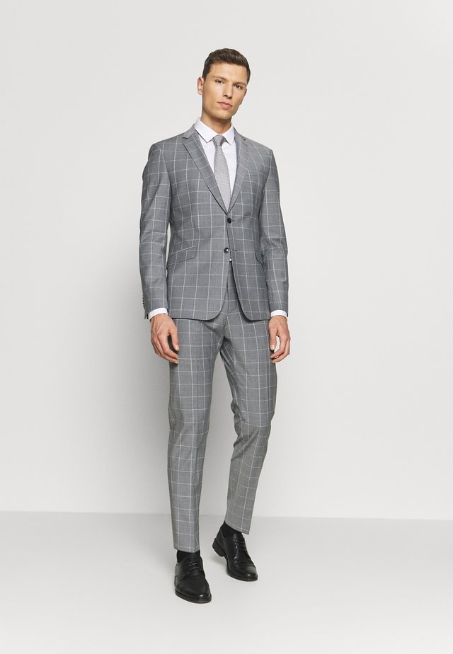 ALLEN MERCER SLIM FIT - Oblek - grey