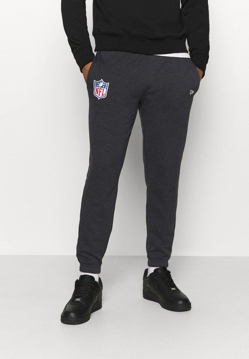 New Era - NFL HEATHER JOGGER - Tracksuit bottoms - black