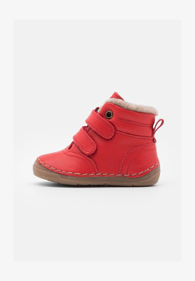 PAIX SHOES WIDE FIT UNISEX - Classic ankle boots - red