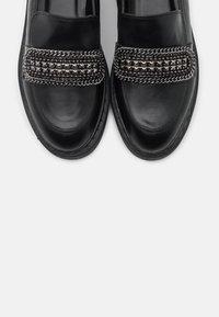 Even&Odd - Scarpe senza lacci - black - 5