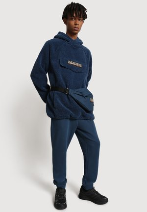 T PATCH CURLY - Hoodie - blue french