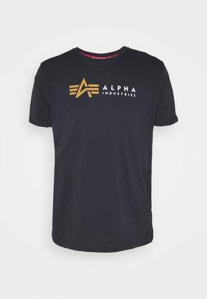 LABEL - T-shirt z nadrukiem - blue