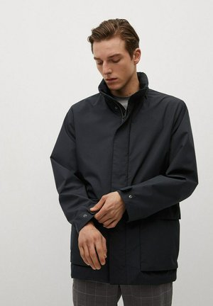 VULCAN - Trenchcoat - dark navy