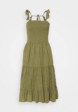 ONLPELLEA LIFE STRAP DRESS - Day dress - capulet olive