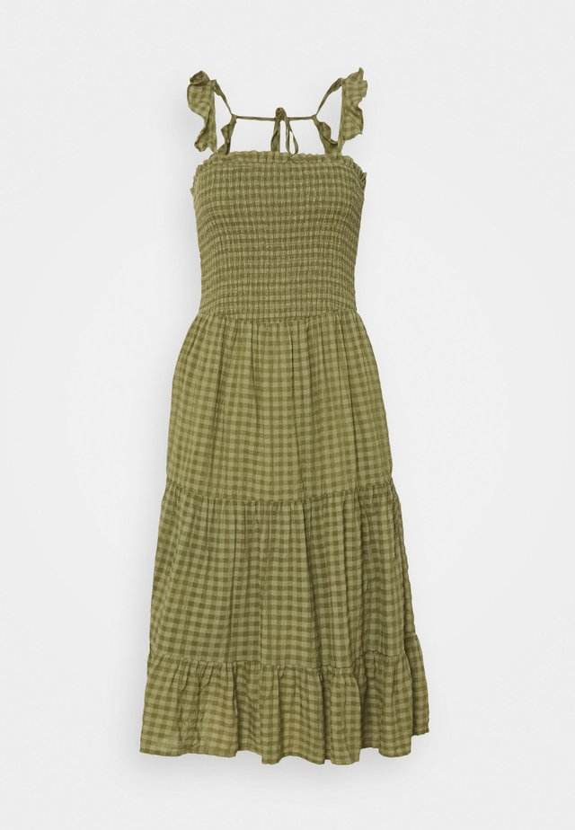 ONLPELLEA LIFE STRAP DRESS - Vestito estivo - capulet olive