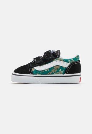 OLD SKOOL  - Sneakers laag - black/alpine green