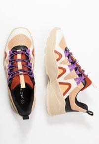 Monki - VEGAN SONIA - Sneakers - beige/lilac - 3