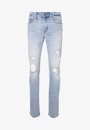 Jeans Skinny Fit - destroyed light wash