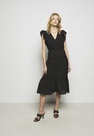 ELLINOR DRESS - Denní šaty - black