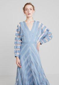 IVY & OAK - VOLANT DRESS - Occasion wear - mineral blue - 3