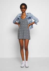 Superdry - QUINCY SUMMER PLAYSUIT - Combinaison - navy ditsy - 1