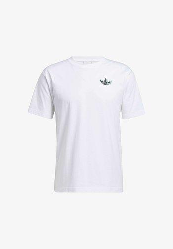 STILL LIFE SUMMER SHORT SLEEVE T-SHIRT - T-shirts print - white