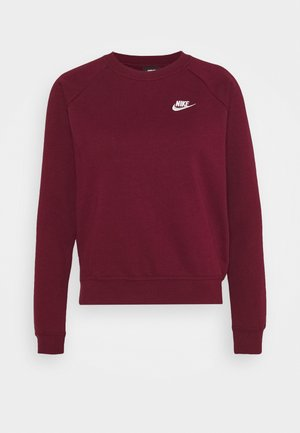 CREW - Sweatshirt - dark beetroot