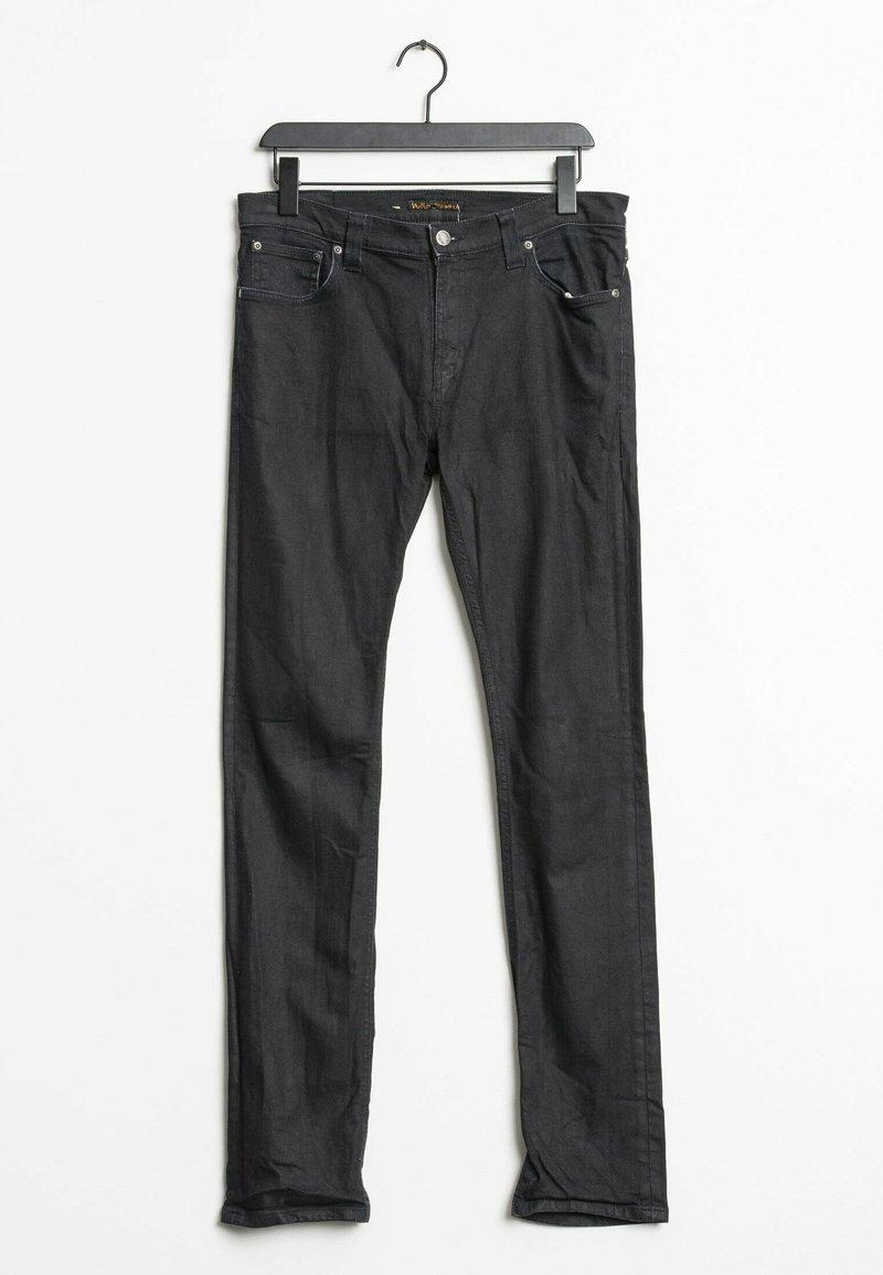 Nudie Jeans - Slim fit jeans - black