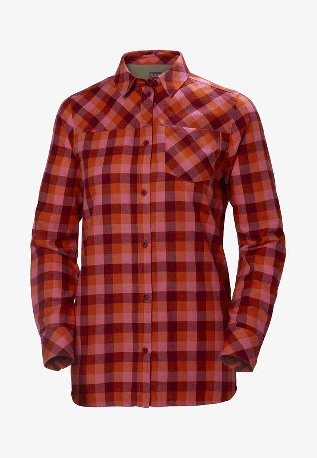 LOKKA  - Button-down blouse - red
