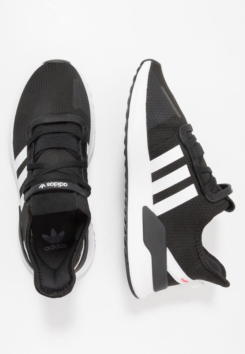 adidas Originals - U_PATH RUN - Trainers - core black/footwear white/shock red