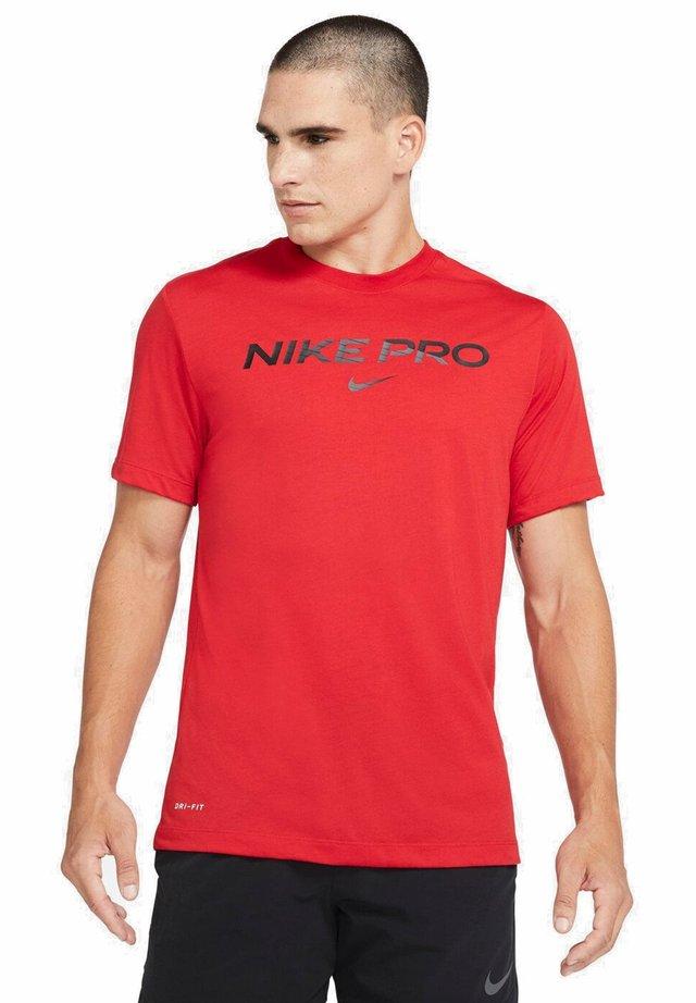 T-shirt imprimé - university red
