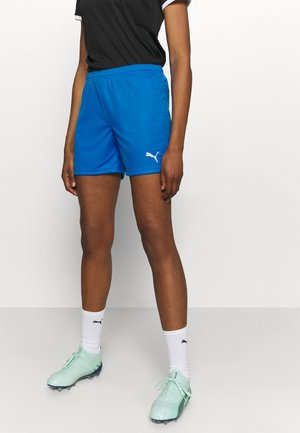 TEAMGOAL - Pantalón corto de deporte - electric blue lemonade