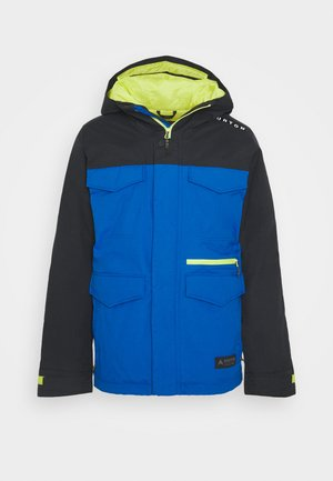 COVERT BARREN - Kurtka snowboardowa - true black/lapisblue