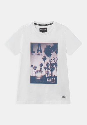 SVEN - T-Shirt print - white