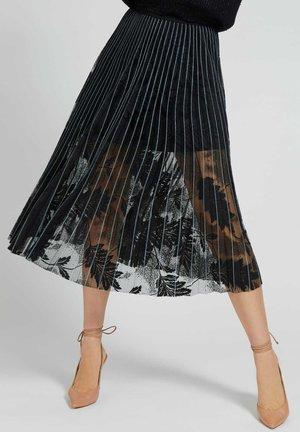 A-line skirt - mehrfarbig schwarz