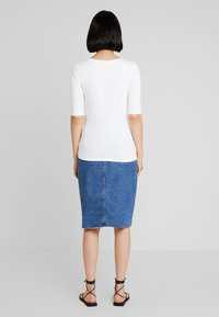Opus - SANIKA - Basic T-shirt - white - 2