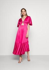 HUGO - KAVORA - Maxi dress - bright pink - 1