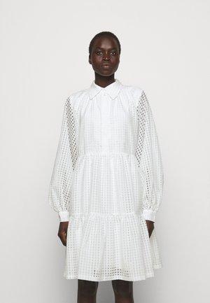 MOLISE DRESS - Shirt dress - white