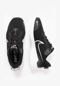 Nike Performance - RENEW RIDE  - Chaussures de running neutres - black/dark smoke grey/white - 1
