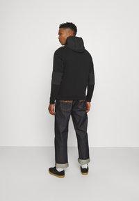 Nike Sportswear - Zip-up sweatshirt - black/ice silver/white - 2