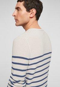 s.Oliver - TRUI - Jumper - offwhite stripes - 5