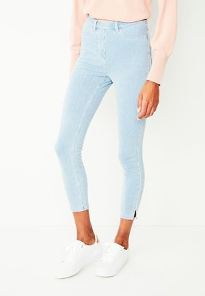 JERSEY CROPPED  - Leggings - Trousers - dark blue