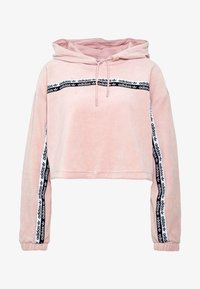 adidas Originals - CROPPED - Bluza z kapturem - pink spirit - 4