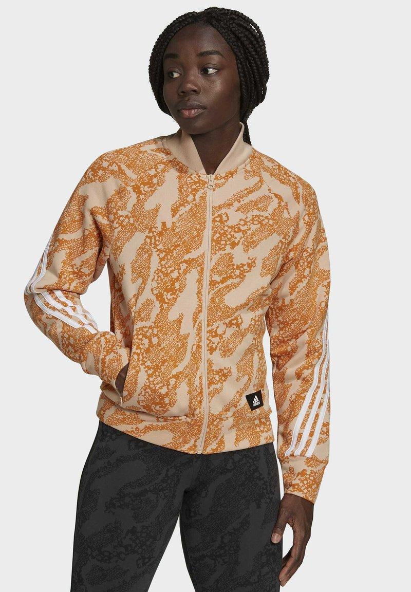 adidas Performance - FUTURE ICONS  - Training jacket - orange/white