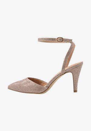 WIDE FIT REMY - High Heel Pumps - rose gold
