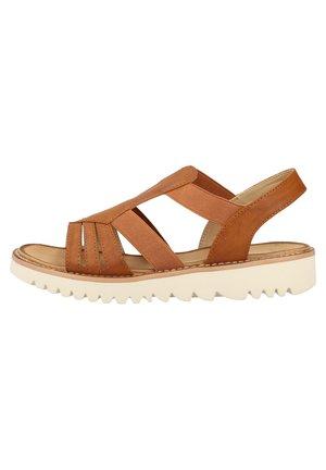 RIEKER SANDALEN - Sandals - cayenne 24
